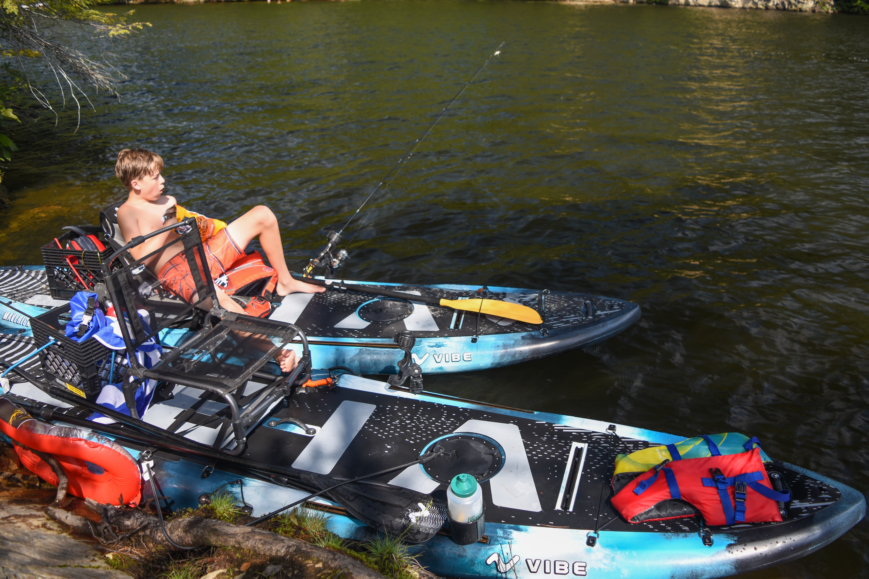 Vibe Maverick 120 Paddleboard (SUP) Review - New England