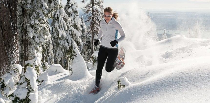 snowshoe-running